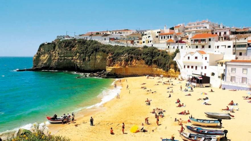 Strand Praia do Carvoeiro